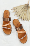 Blowfish Otsi Sandal - Rose Gold