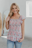 Kan Can White Distressed Shorts