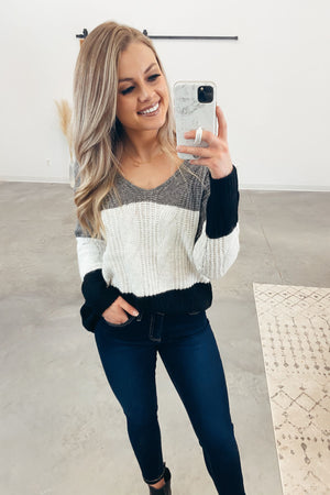 Unstoppable Colorblock Sweater