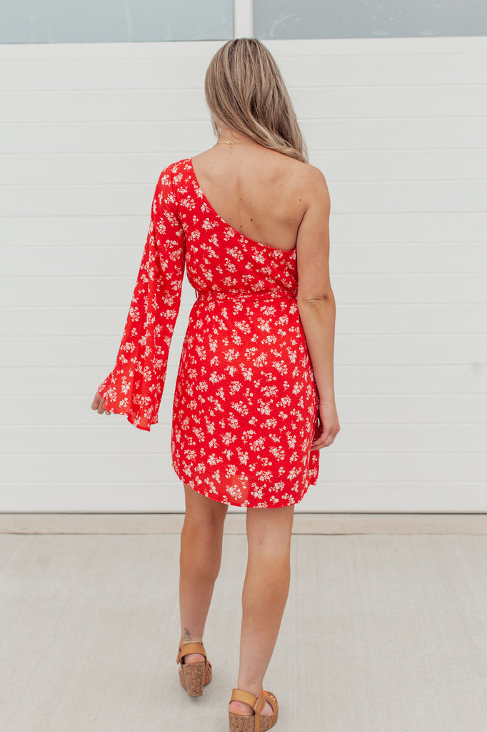 Pick of the Bunch One Shoulder Dress