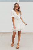 Longing For You Dress - Cream