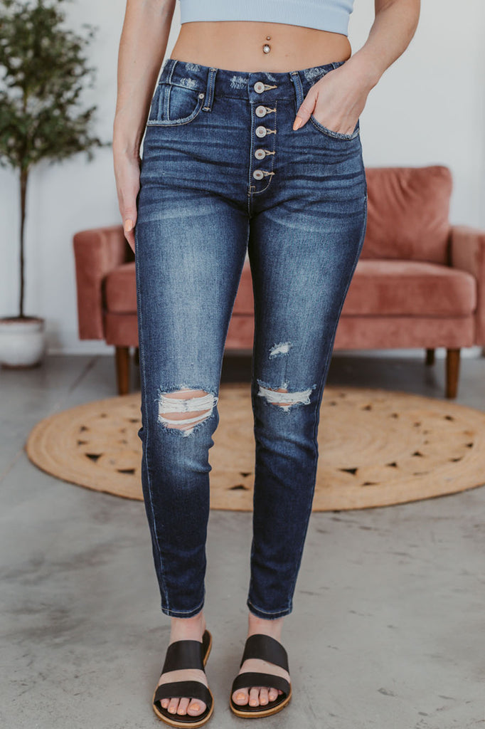 Hunter Color Block Striped Sweater