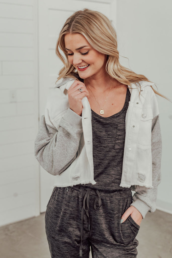 Double Time Sandal - White/Gold