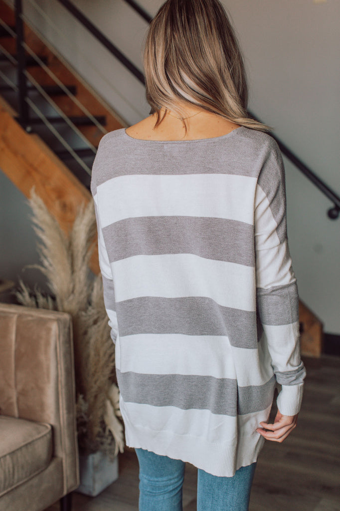 The Good Life Striped Sweater