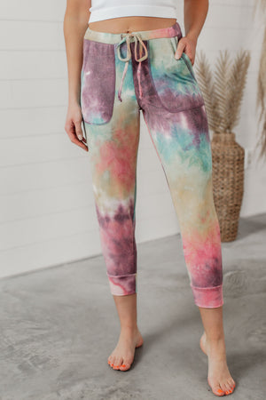 Grace & Lace The Weekend Joggers - Tie-Dye