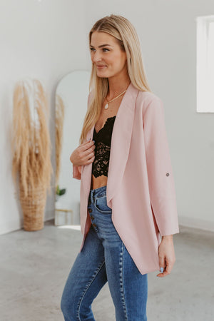 Start With A Dream Jacket-Black(XS-L)