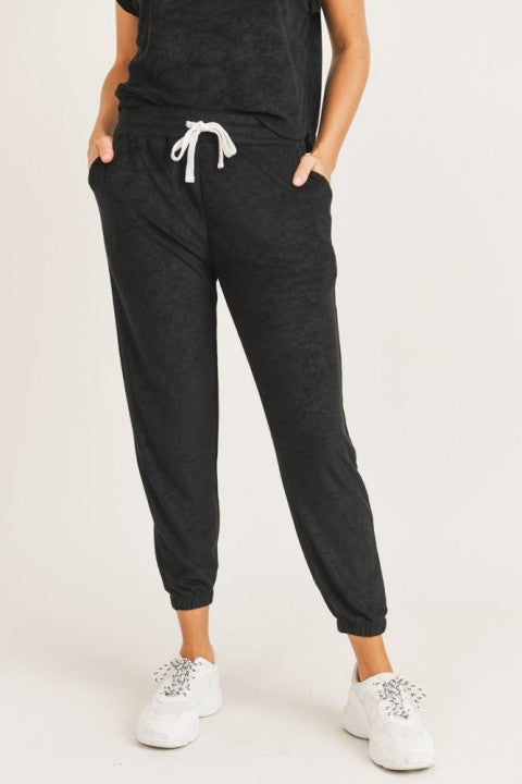 Lounge Essentials Joggers - Black