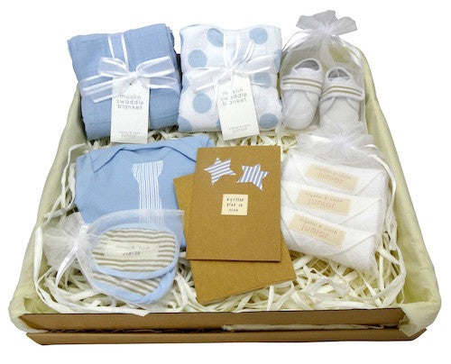 Tiny Tyson Gift Box - Baby Boy - Crystal & Cloth