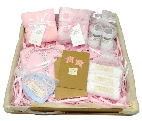 Little Rose Gift Box - Baby Girl - Crystal & Cloth