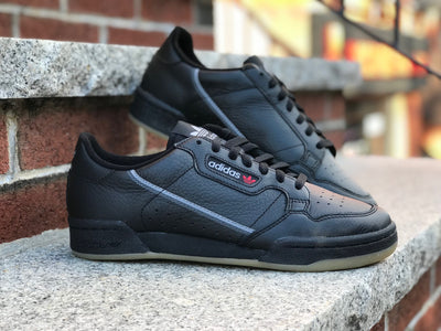 Adidas Continental 80 Black Grey gum BD7797
