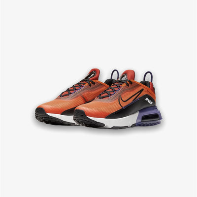 Nike Air Max 2090 Magma Orange Black Eggplant Grade School CJ4066-800