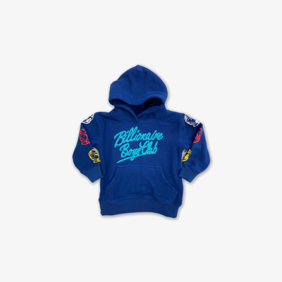BBC BB Polar Hooded Pullover Sodalite Blue Kids