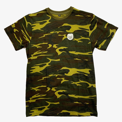 Sneaker Junkies Patch Logo Tee Camo