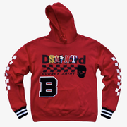 B Wood Party Boy Hoody Red