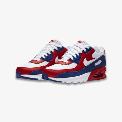Nike Air Max 90 GS White White Deep Blue DA9022-100