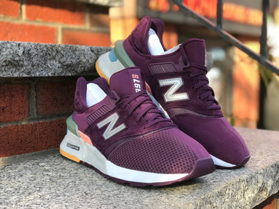 New Balance burgundy MS997XTB