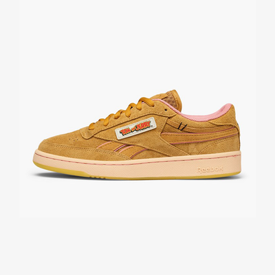 Reebok x Tom & Jerry Club C Revenge Tan Pink Yellow FW4632
