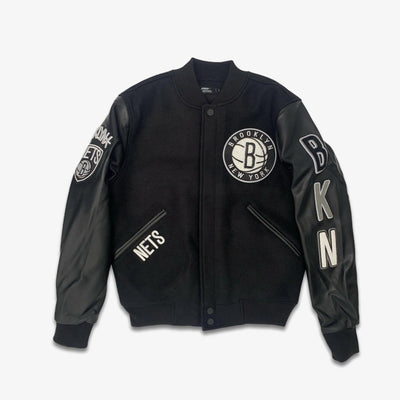 Pro Standard Brooklyn Nets Jacket Black