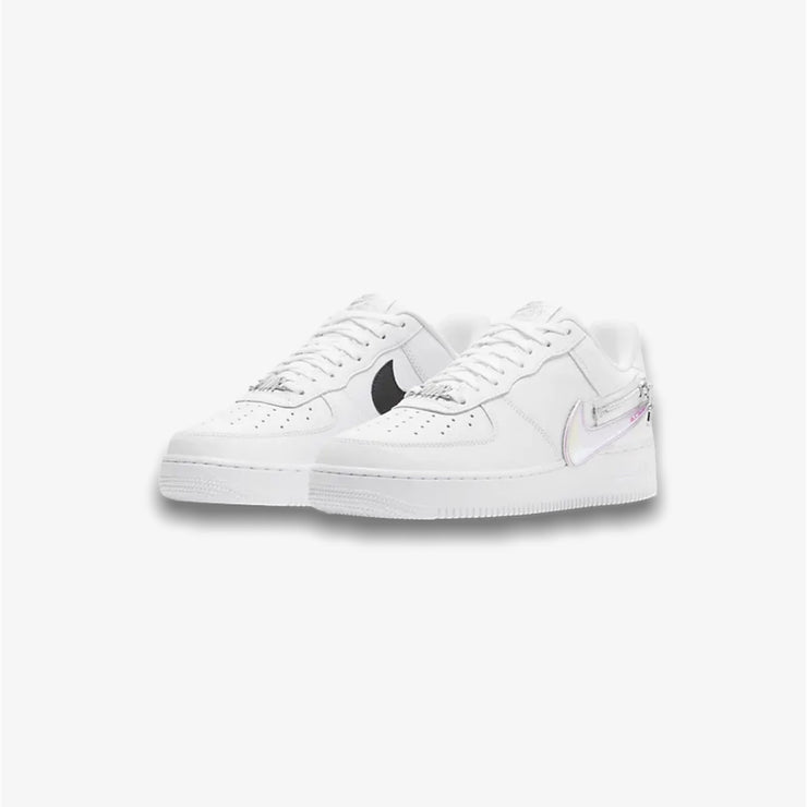 Nike Air Force 1 '07 Premium White Black Barely Volt CW6558-100