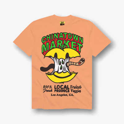 Chinatown Market Smiley Local Produce T-shirt Apple