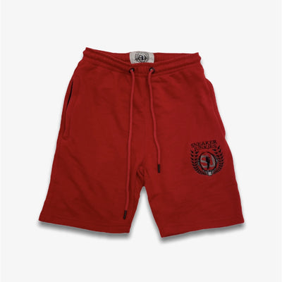 Sneaker Junkies shorts Logo Red