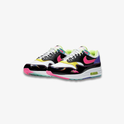Nike Air Max 1 Black Hyper Pink Opti Yellow CZ7920-001
