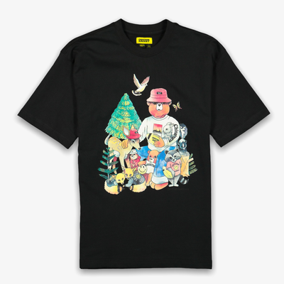 Chinatown Market Smiley Friends Tee Black
