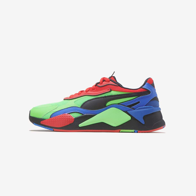 Puma RS-X3 Tailored (GS) fluo green black daz Blue 373716-01