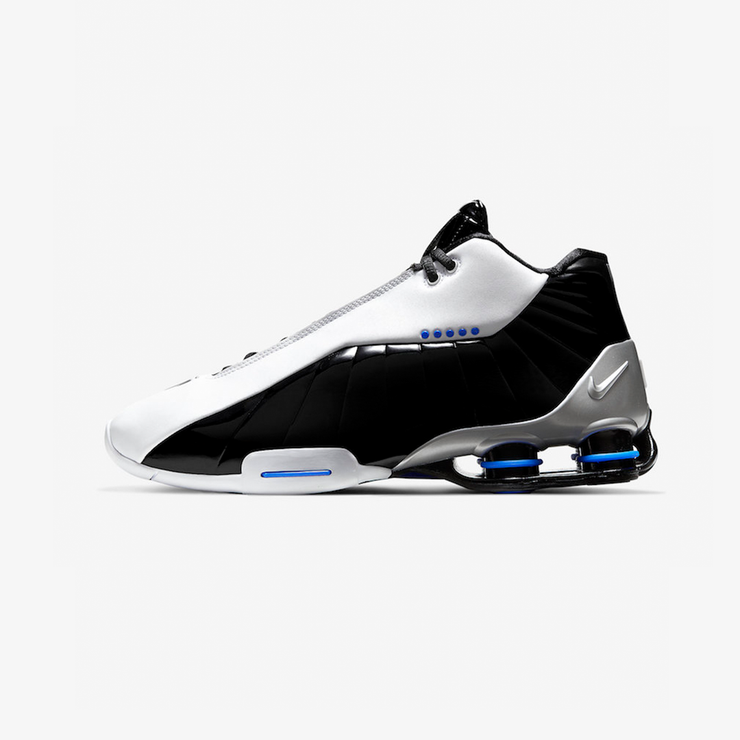 Nike Shox BB4 White Black Racer Blue AT7843-102