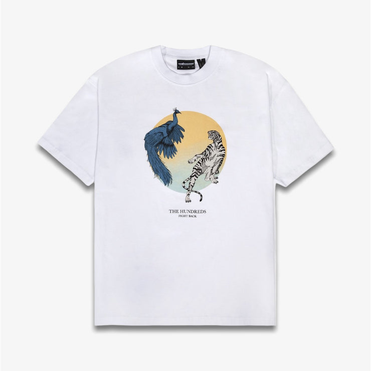 The Hundreds Clash SS T-shirt White