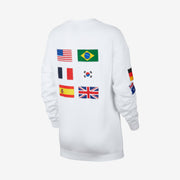 Nike Women's Crew L/S Olympic White CJ3219-100
