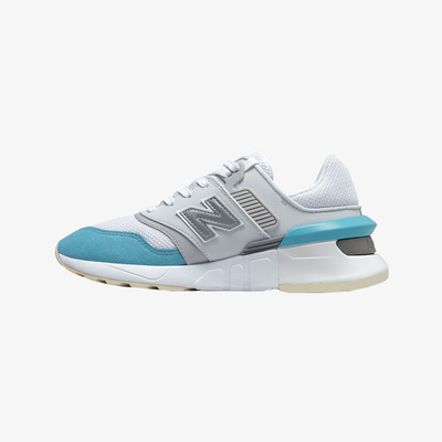 New Balance Women's WS997GFK white blue