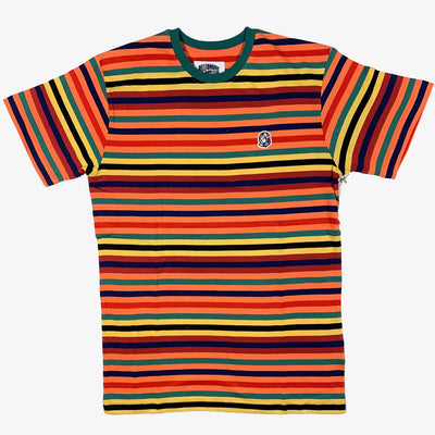 BBC BB Stripes SS Knit T-shirt Camelia