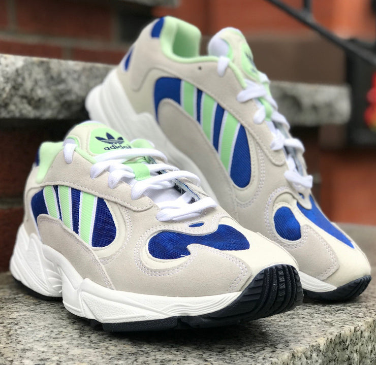 Adidas Yung-1 White Glow Green Collegiate Royal EE5318