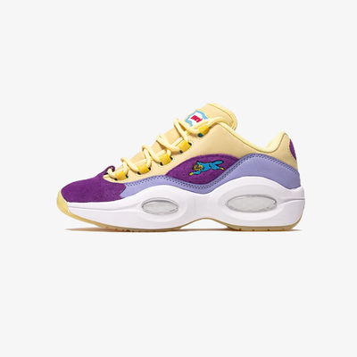 Reebok x Ice Cream Question Low Filtered Yellow Lilac Glow White G55351