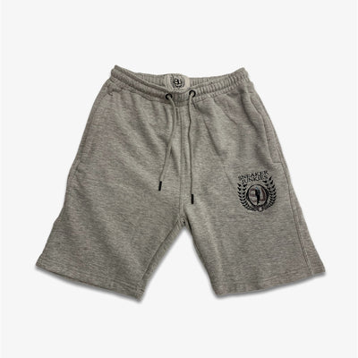 Sneaker Junkies Shorts logo grey