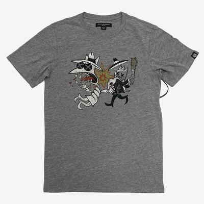 Cult of Individuality Spy SS Crewneck T-shirt Heather Grey