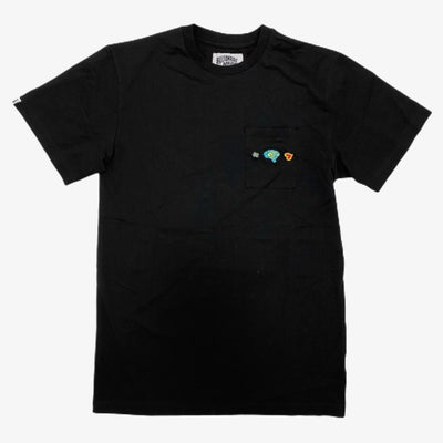 BBC BB Right Hemisphere SS Knit T-shirt Black