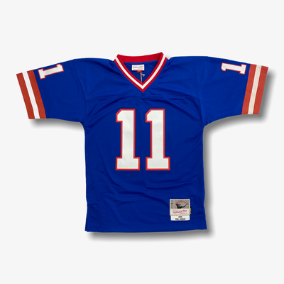 Mitchell & Ness NFL Legacy Jersey New York Giants Phil Simms 1986 Blue