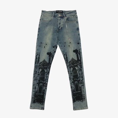 En Noir Cathedral Denim Blue