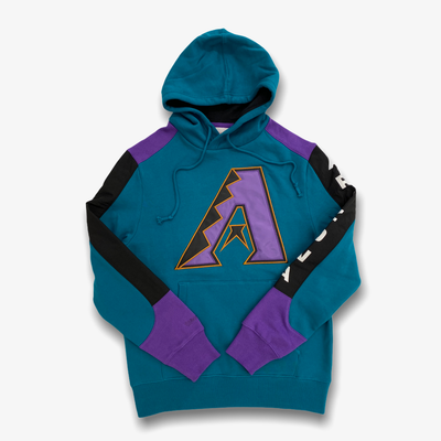 Mitchell & Ness Arizona Diamondbacks Fusion Fleece Hoodie