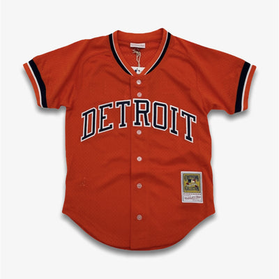 Mitchell & Ness MLB Batting Practice Jersey Detroit Tigers Orange