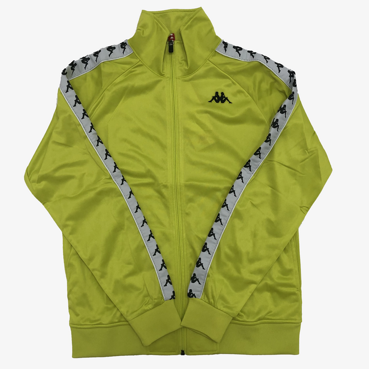 Kappa 222 BANDA ANNISTON Track Jacket Green Lime White