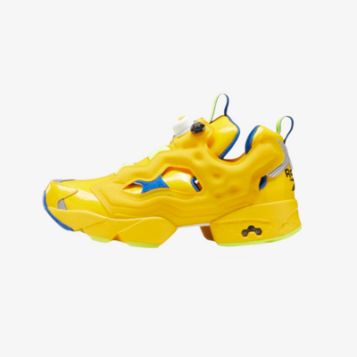Reebok x Minion Instapump Fury Primal Yellow Humble Blue FY3404