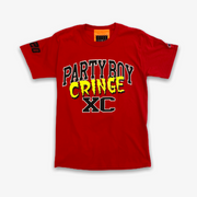 B Wood Party Boy Tee Red