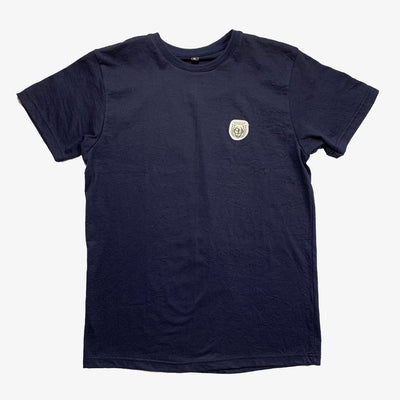 Sneaker Junkies Patch Logo Tee Navy