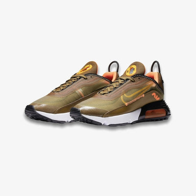 Nike Womens Air Max 2090 Olive Flank University Gold DC1875-300