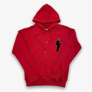 Sneaker Junkies Chenille suitman Red Hoodie