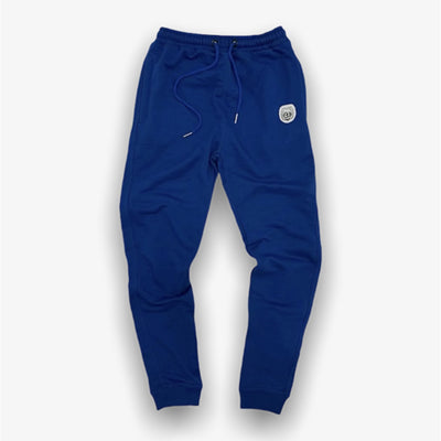 Sneaker Junkies Classic Leather Patch Sweatpants Royal