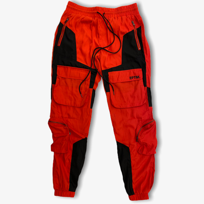 EPTM Cargo Pants Black Red